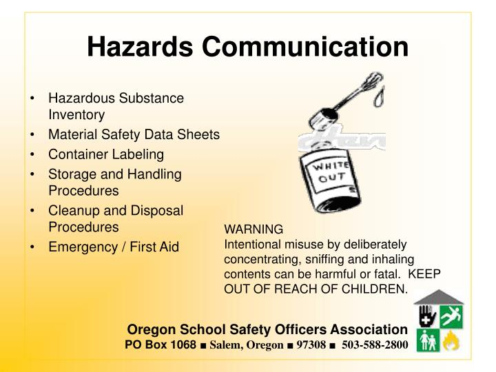 Hazards Communication