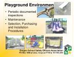 playground environments