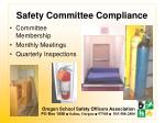 safety committee compliance