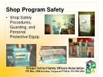 shop program safety