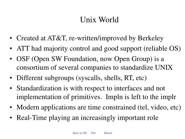 Unix World