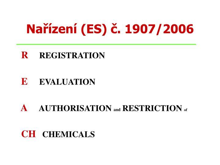 Nařízení (ES) č. 1907/2006