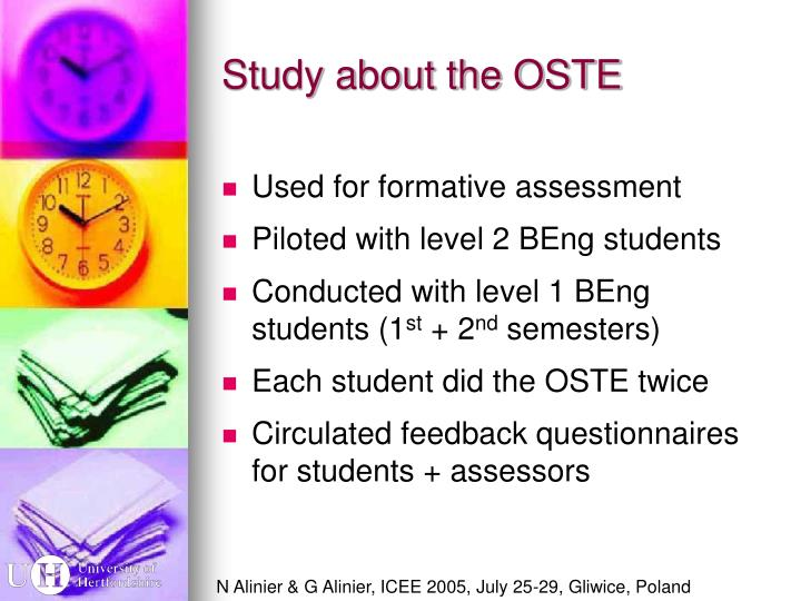 Study about the OSTE