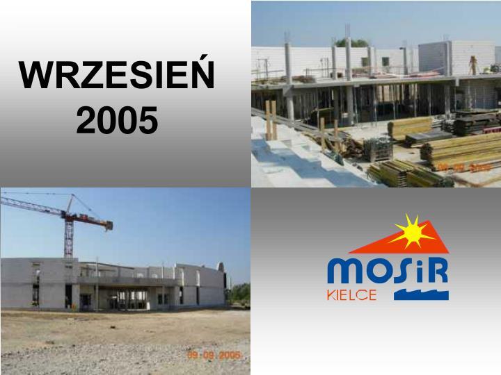 WRZESIEŃ 2005