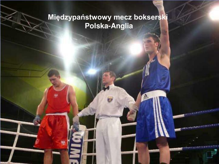 Międzypaństwowy mecz bokserski