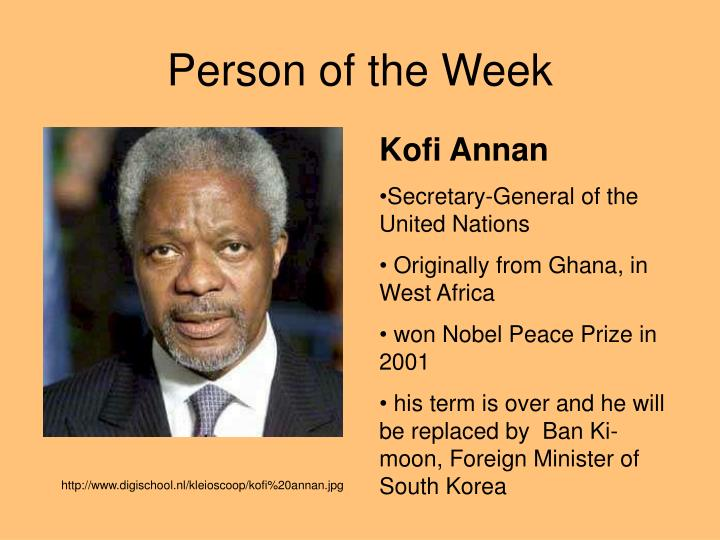 Person of the Week