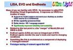 lisa evo and endhosts