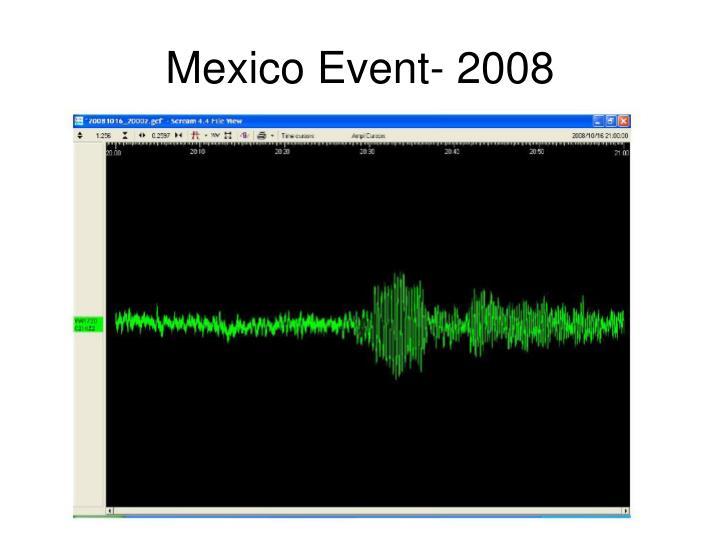 Mexico Event- 2008