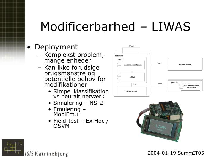 Modificerbarhed – LIWAS