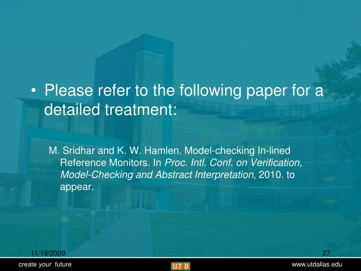 Please refer to the following paper for a detailed treatment: