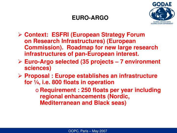 EURO-ARGO