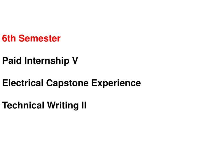 6th Semester