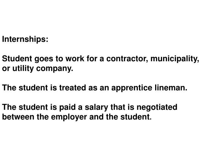 Internships:
