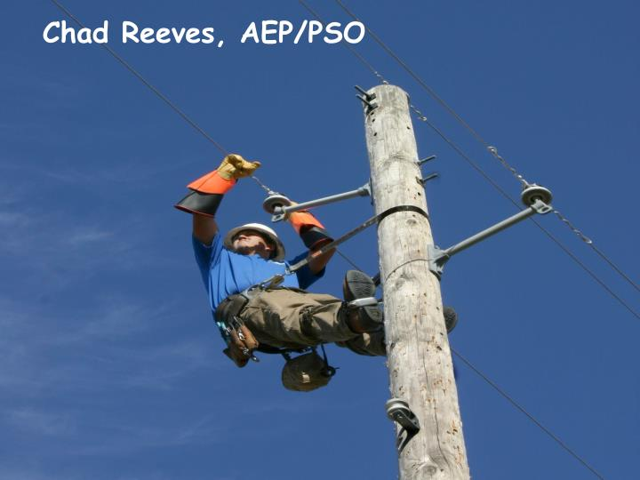 Chad Reeves, AEP/PSO