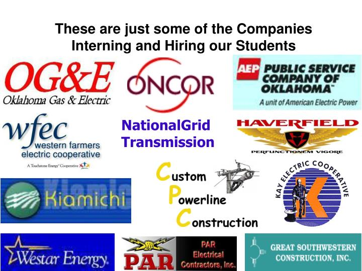 These are just some of the Companies