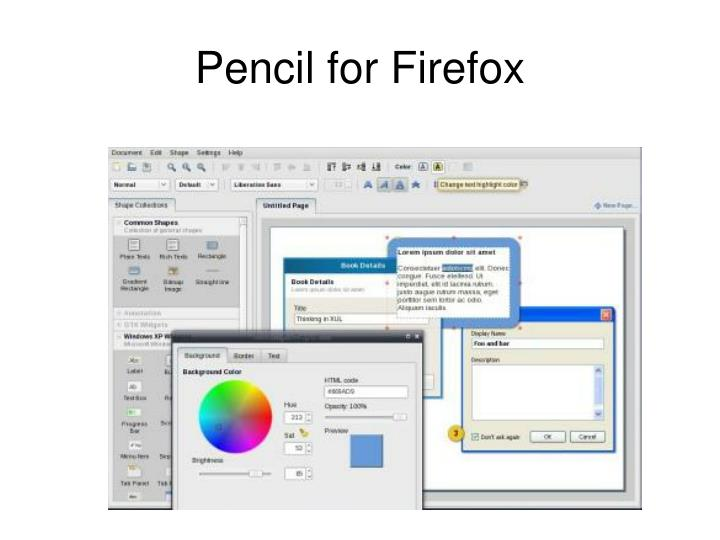 Pencil for Firefox