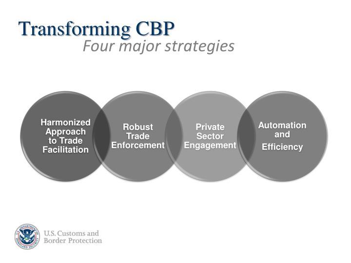 Transforming CBP
