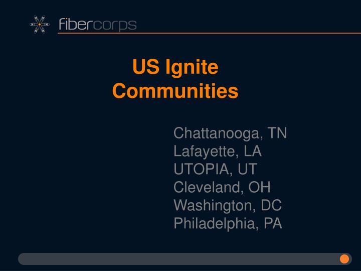 US Ignite Communities