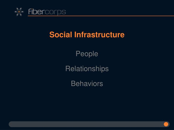 Social Infrastructure