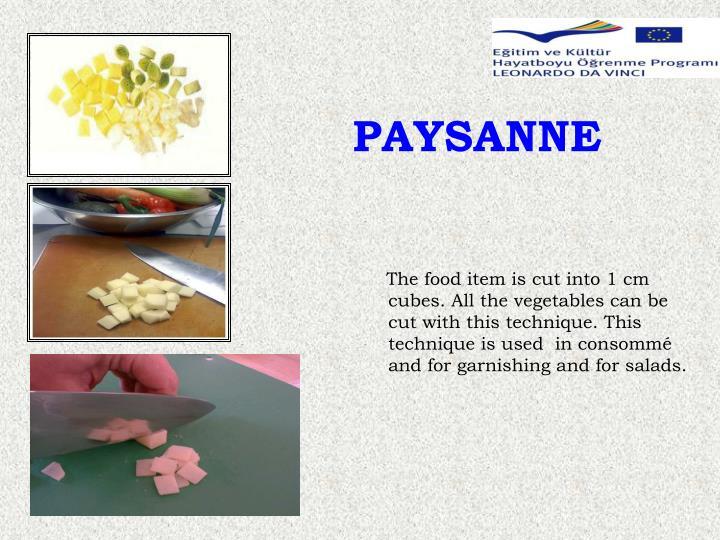 PAYSANNE