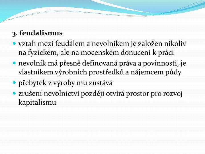 3. feudalismus