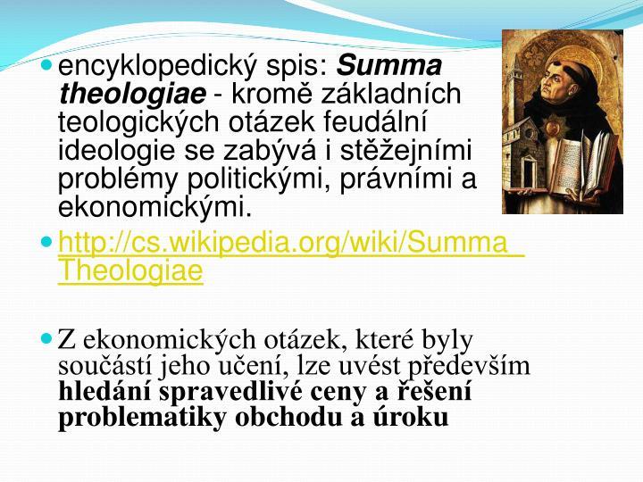 encyklopedický spis: