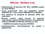 nwlink netware link