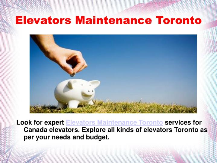 Elevators Maintenance Toronto