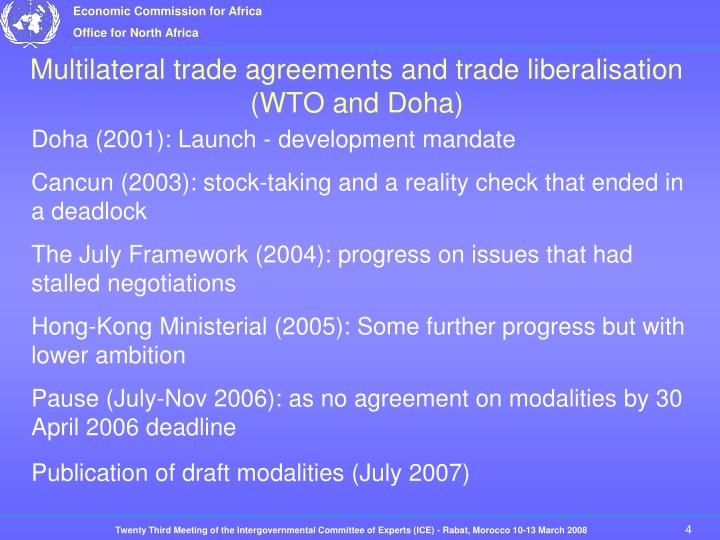 Doha (2001): Launch - development mandate
