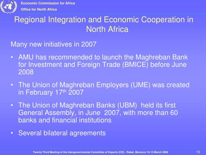 Many new initiatives in 2007