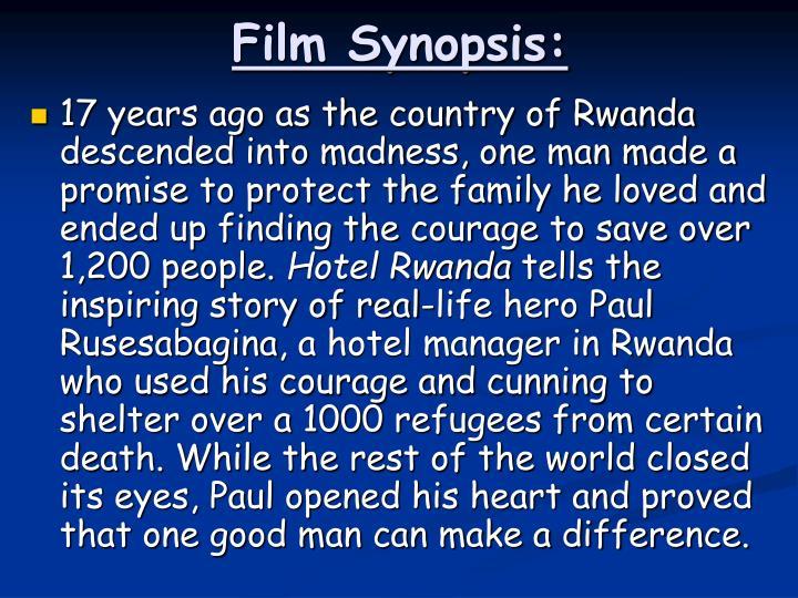 Film Synopsis: