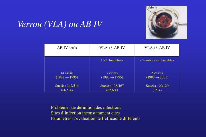 AB IV seuls