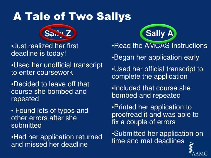 A Tale of Two Sallys