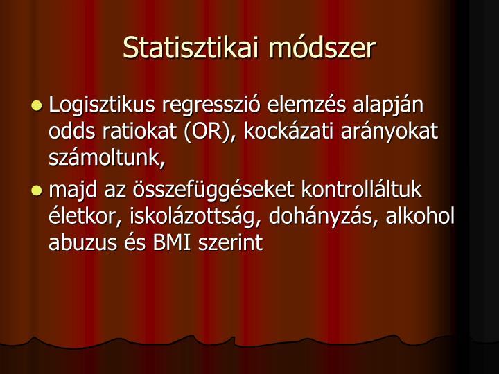 Statisztikai módszer