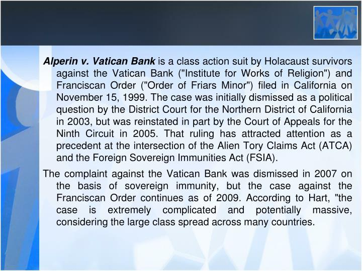 Alperin v. Vatican Bank