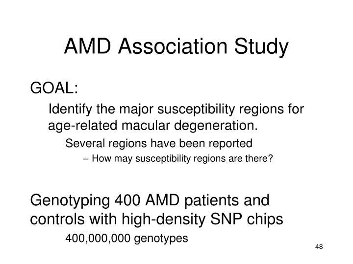 AMD Association Study