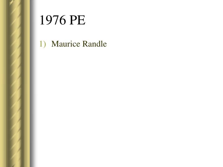 Maurice Randle