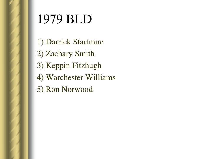 1) Darrick Startmire