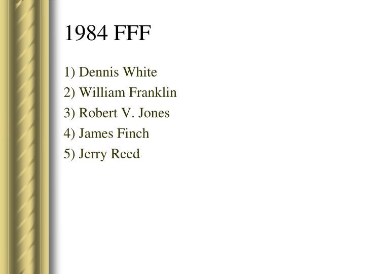 1) Dennis White