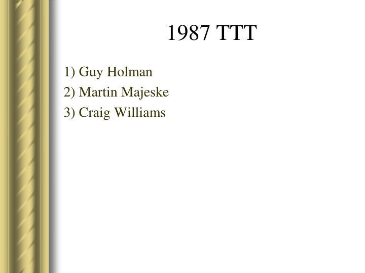 1) Guy Holman