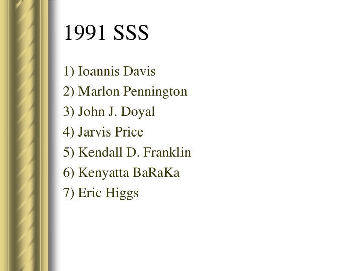 1) Ioannis Davis