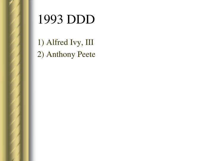 1) Alfred Ivy, III