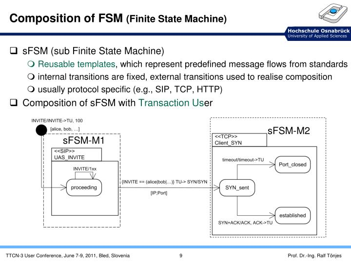 Composition of FSM