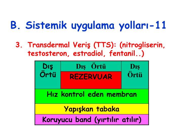 PPT - İLAÇLARIN UYGULAMA YERLERİ ve YOLLARI PowerPoint
