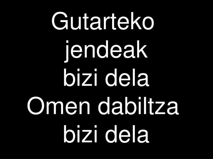 Gutarteko