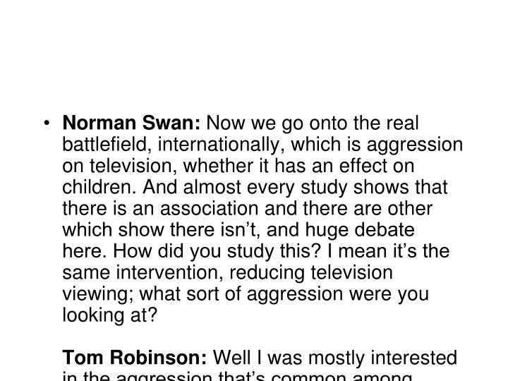 Norman Swan: