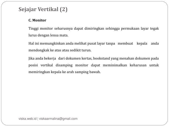Sejajar Vertikal (2)