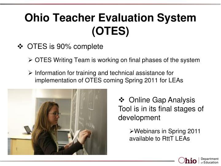 Ohio Teacher Evaluation System (OTES)