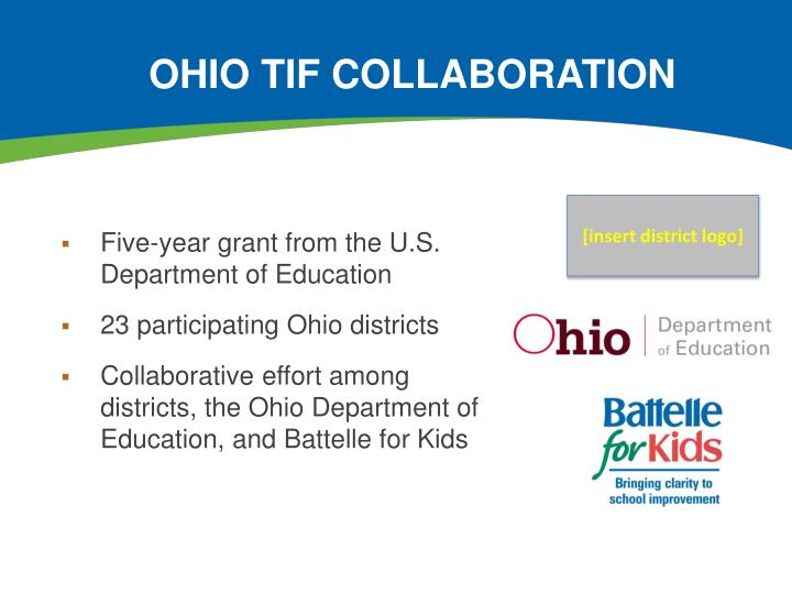Ohio tif collaboration