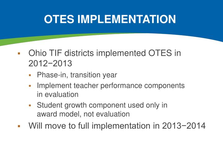 OTES Implementation